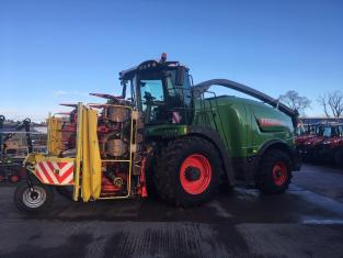 FE391153  Ex Demo Fendt Katana 65 Forage Harvester