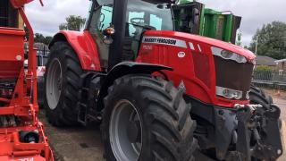Used Massey Ferguson 7626 50kph