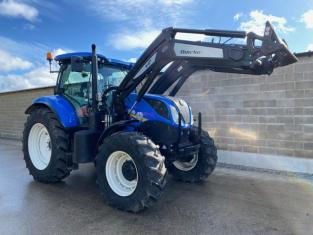 NEW HOLLAND T7.190 C/W QUICKE Q6M FRONT LOADER