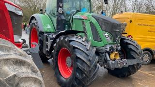 DUE IN, Fendt 724 Profi, 2015, Front Links&PTO, SM Novatel Guidance