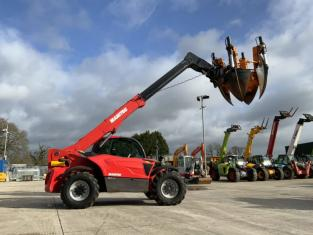Manitou MHT 790 Telehandler Fitted With Optmal 1700 Tree Spade (ST9308)