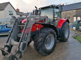 Used MF 7718S Dyna VT Exclusive Tractor