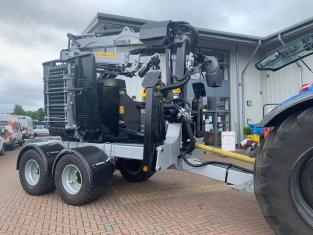 AM000171 Demo 2021 Kesla C645T11 Twin Axle Chipper