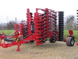 PROFORGE INVERTAMAX 5 metre Heavy Short-Disc, Speed-Disc Harrow Cultivator, New, In Stock