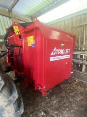 Triolet Silokam Self Loading Feed Discharge Wagon