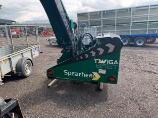 TD000060 - 2016 Spearhead Twiga 655T Hedgecutter