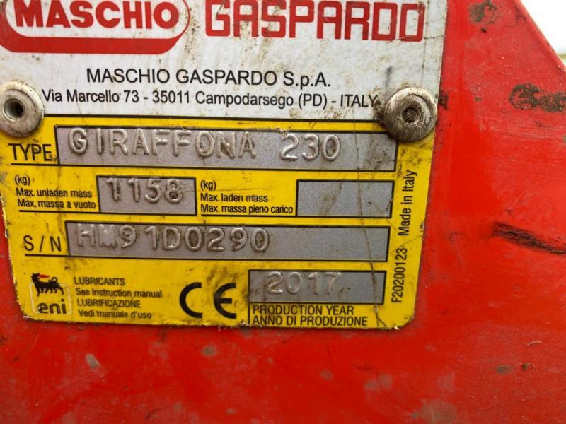 T4009600 2017 Maschio Giraffona Flail Mower