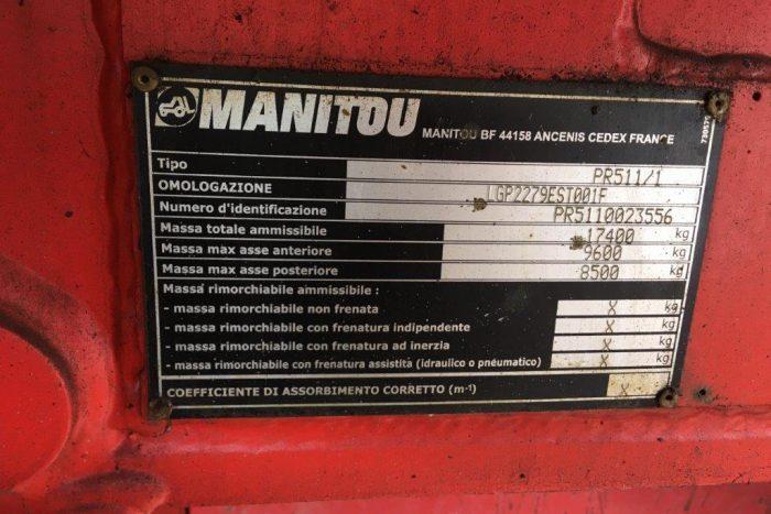 Manitou - MRT2150 TELESCOPIC HANDLER