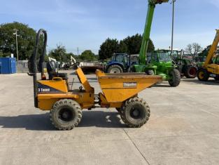 Thwaites 3 Tonne Straight Tip Dumper (ST10435)
