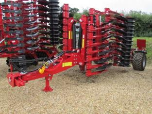 PROFORGE INVERTAMAX 4 metre Heavy Short-Disc Speed-Disc Harrow Cultivator, New, Sorry! Sold Out for