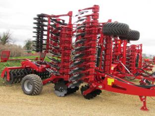 PROFORGE INVERTAMAX PRO 6 metre Heavy Short-Disc, Speed-Disc Harrow Cultivator, New - Sorry ! Sold O