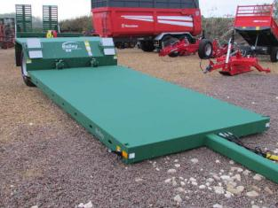 BAILEY 8 tonne Hyd. Drop Flat Bed - 4.8 m - Low Loader Trailer, New