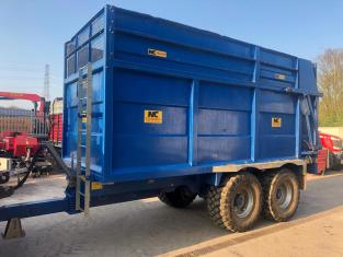 TC000057 2016 NC Engineering 14T Silage Trailer