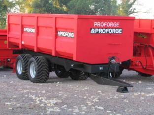 PROFORGE ACE 14 Tonne Grain Trailer, NEW, Standard Door, Sprung Drawbar