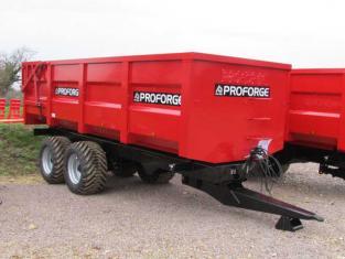 PROFORGE ACE 14 Tonne Grain Trailer, NEW, Hyd Door, Sprung Drawbar