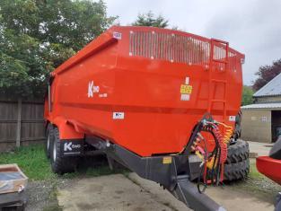 K TWO 18 tonne Grain Trailer, 2021, New Unused, Curve T1800, 560 Flotations, Dual Braking, Available