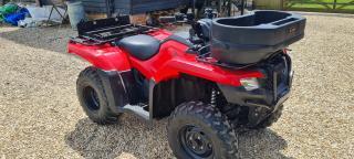 TA000765 2019 Honda TRX420 FA2 4WD ATV
