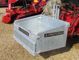 Proforge Galvanised Tipping Transport Box 4ft, 3 pt linkage,