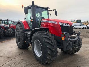 MA537661 - 2019 MF8740 SEXDV 4WD Tractor