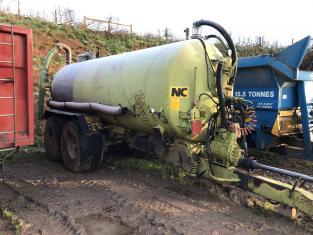 TE00039C - 2009 NC Engineering 3000G Slurry Tanker