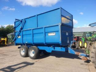 GRIFFITHS GHS100 10 TON SILAGE TRAILER