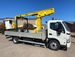Hino 300 815 lorry, 07/2011, 22,500 miles