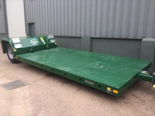 Bailey drop deck 8/48 low loader, 2021