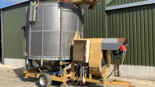 Mecmar 20 Tonne Mobile Electric Dryer