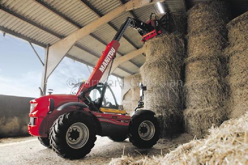 Manitou's rear-engined MLT 629 telehandler comes to the UK