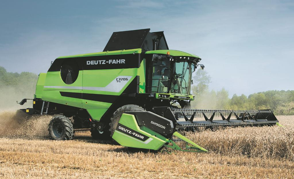 Deutz-Fahr fills out medium range combine offering