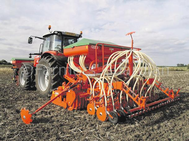 MASCHIO LAUNCHES SEED AND FERTILISER COMBINATION DRILL