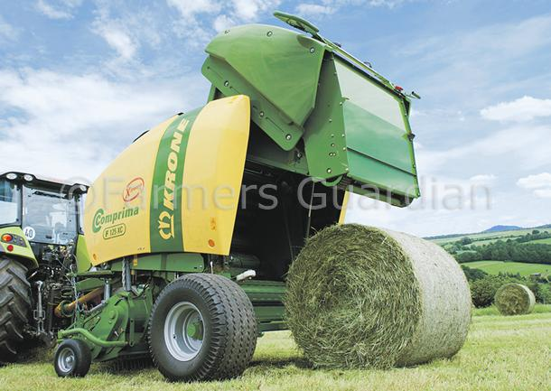 Krone gets X-treme with latest Comprima round balers