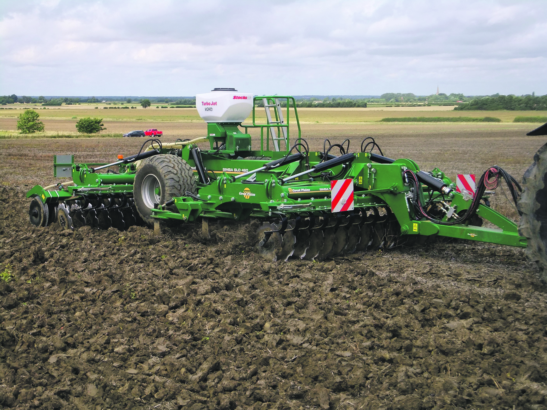 In-depth test looks at Great Plains' SLD cultivator capabilities