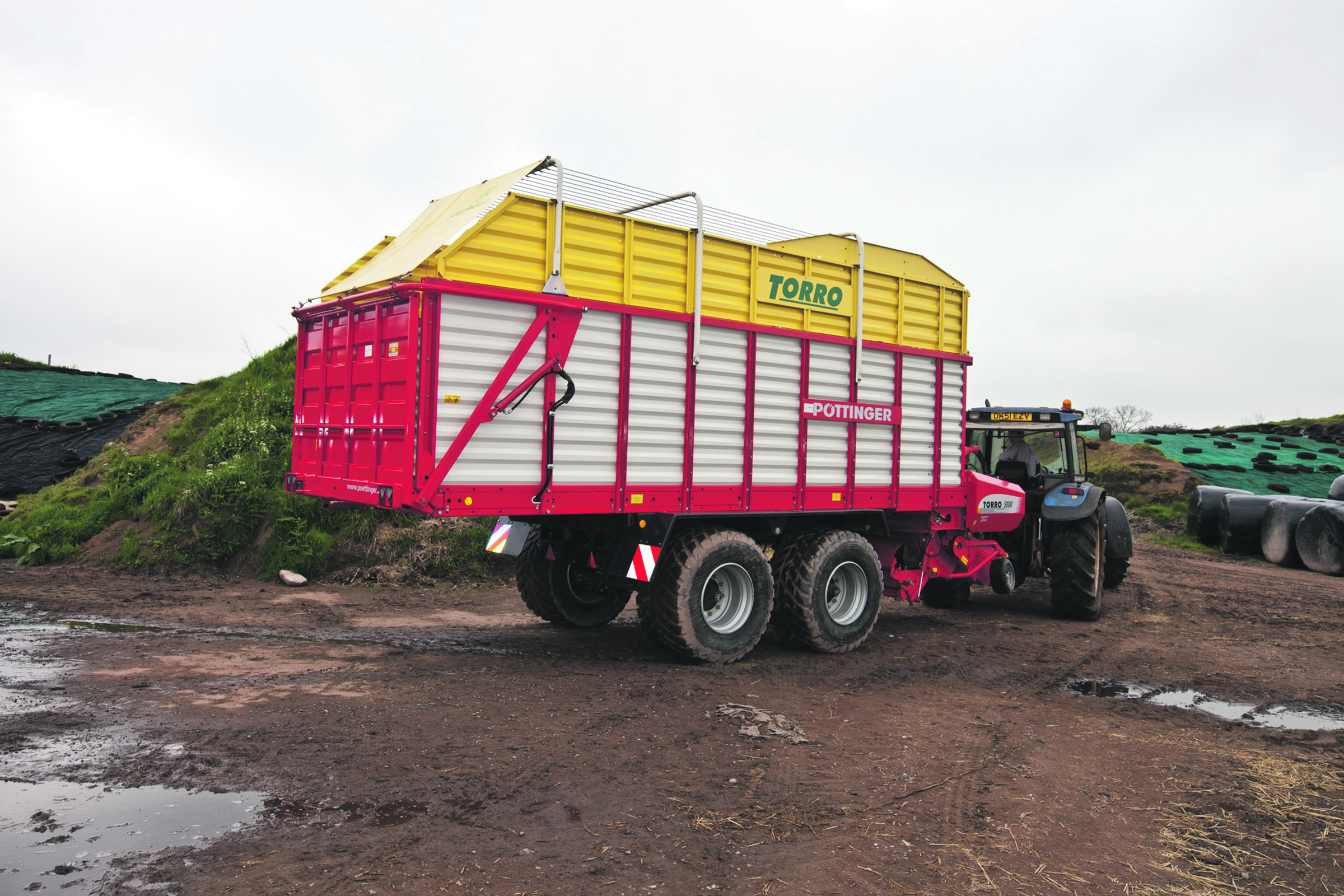 Forage wagon test: Pottinger Torro 5100 Powermatic