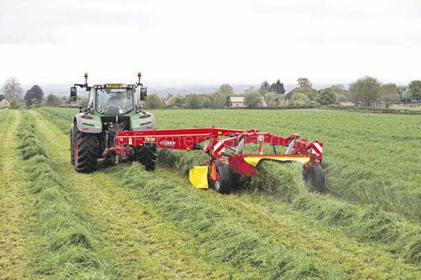 Fella introduces centre pivot mower conditioner