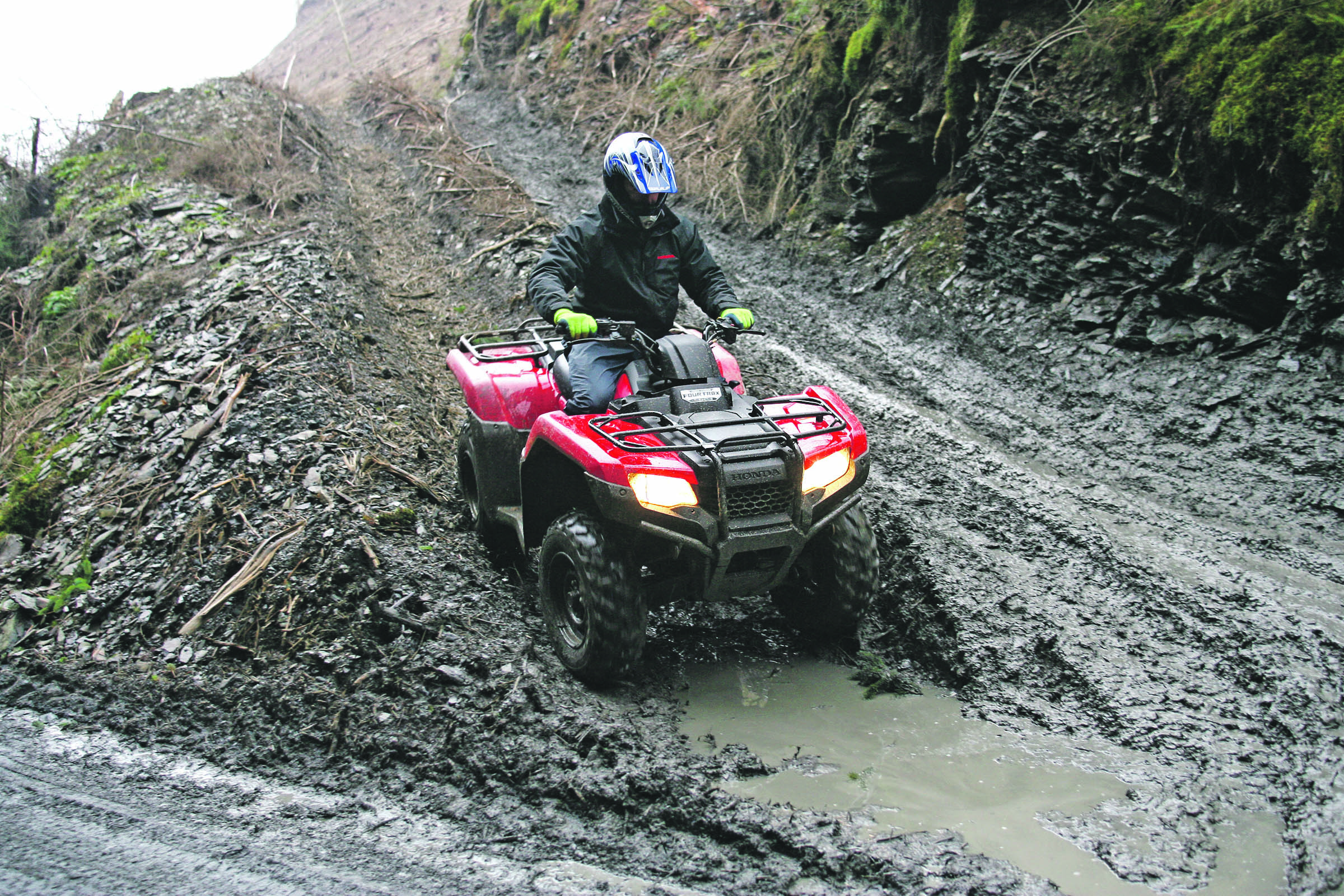 Could a leisure industry renowned ATV be a contender in the agricultural sector?