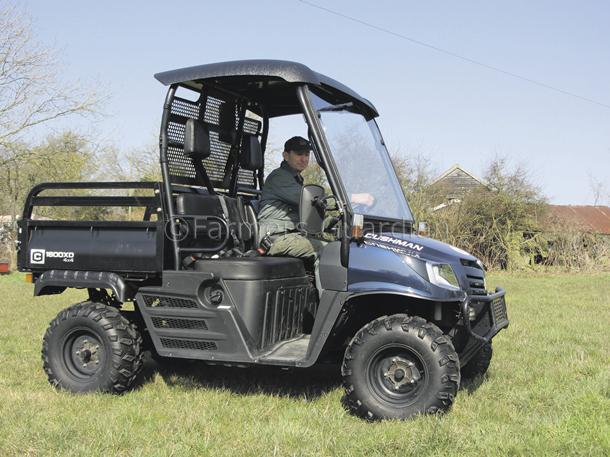 Cushman's 1600XD fairway master is on par in field