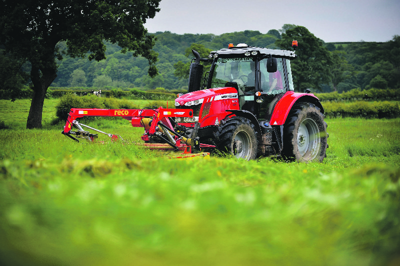 Silaging duties reveal capabilities of new MF 6600 series