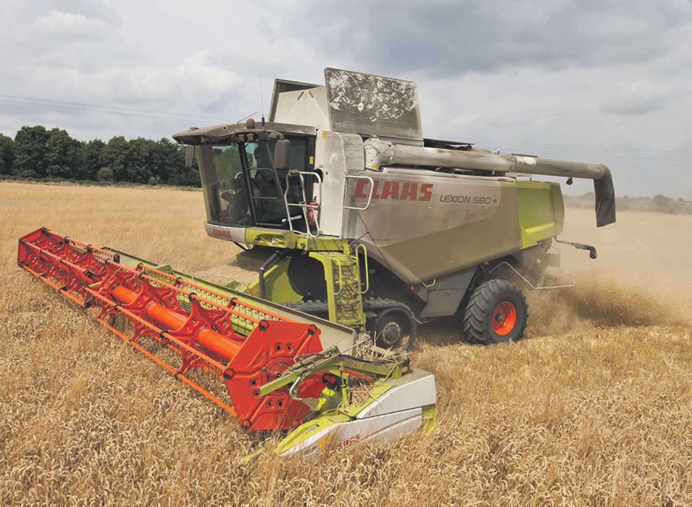 Getting the best from: Claas Lexion 580